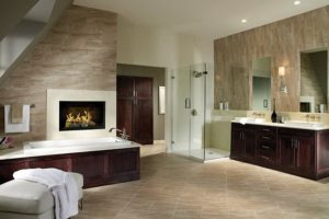 Luxury Bathroom with Ceramic Tile