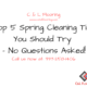 Top 5 Spring Cleaning Tips You Should Try – No Questions Asked!