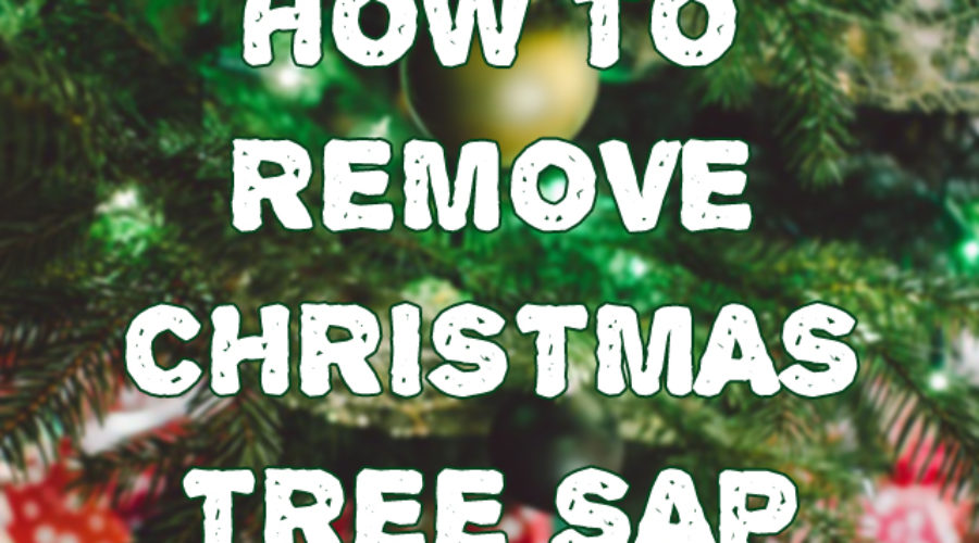 How to Remove Christmas Tree Sap Stains From Your Carpet