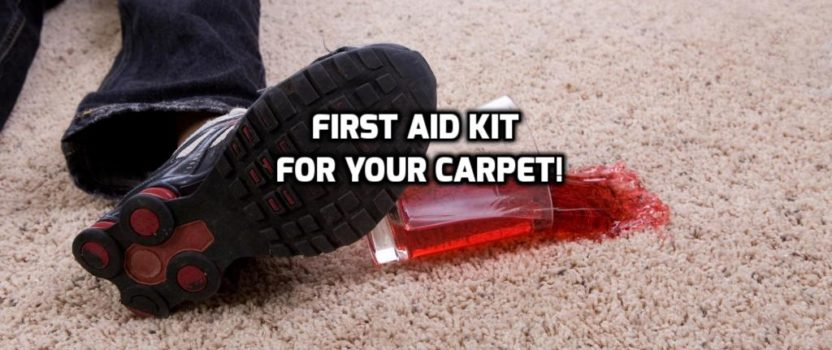 A First Aid Kit for Your Carpet – What it is and How to Use It