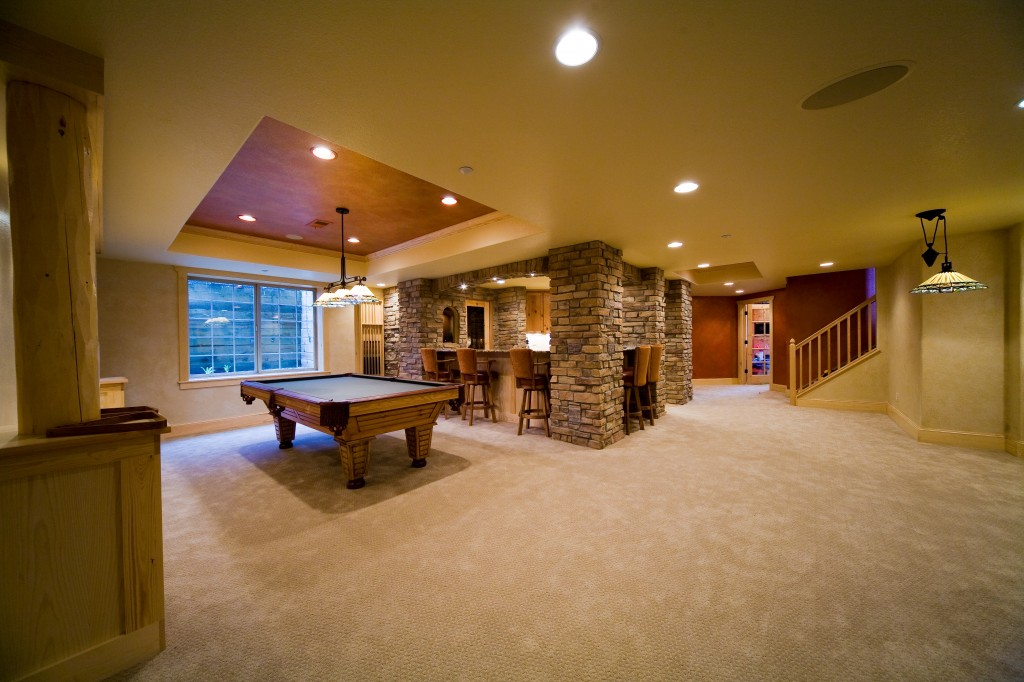 The Best Basement Remodel Flooring Options C L Flooring Delectable Remodeled Basements