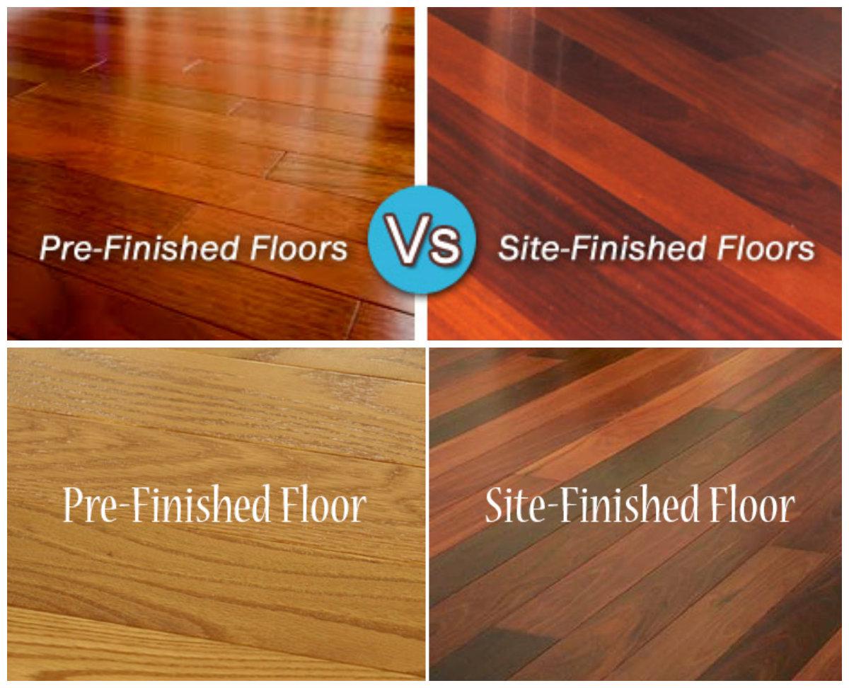 Hardwood Floors Prefinished Vs Site