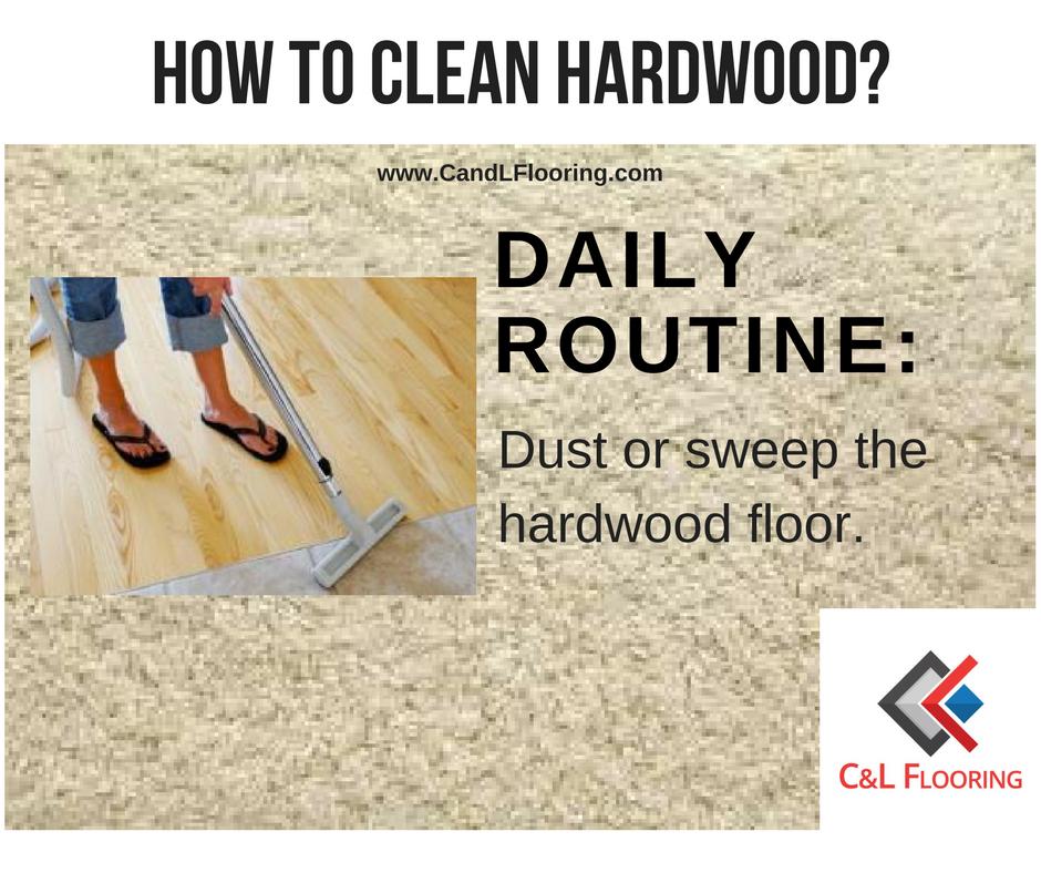 How To Clean Hardwood C Amp L Flooring